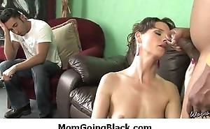 My big tits mama likes big black fat cock 37