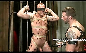 Chad Brock receives tied up and promote