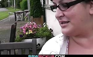 BBW rides stranger'_s broad in the beam bushwa