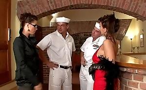 Navy femdom guys oral