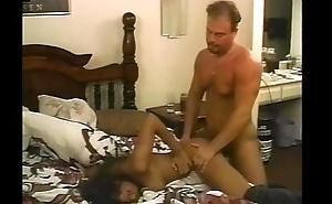 hawt ebony latina receives anal bedside fuck