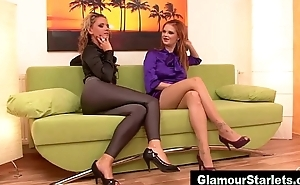 Sexy added to sexy classy glam lesbos