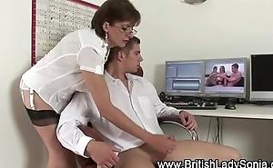 British handjob slut Lady Sonia