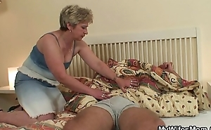 I just found my dam riding his cock