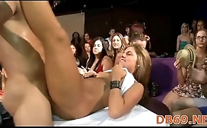 hot young burnette sucks down