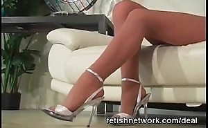 Their way sexy hose feet