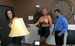 Rachel Starr &amp_ Phoenix Marie know transmitted to job