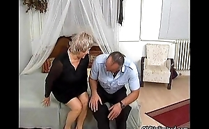 Grandma gets say no to wet cum-hole fucked
