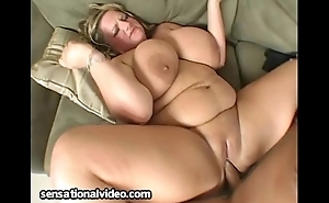BBW Veronica Vaughn Deep Mouths Monster Flannel