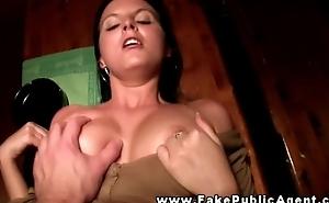 Bargirl gives a public fellatio