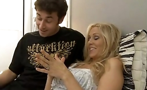 JULIA ANN - OFFICIAL WIFE SWAP Striptease