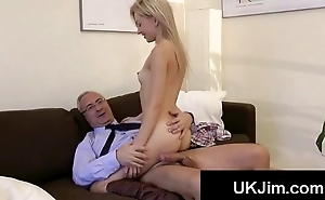 Young gorgeous blonde acquires hardcore fucked off out of one's mind big old weasel words