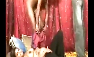 Indian   Desi  Pregnat  Babe Helter-skelter  Two Gys