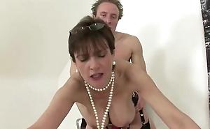 Await mature british big tits