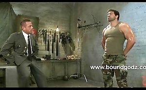 Tyler interrogates together with fucks bound Vince
