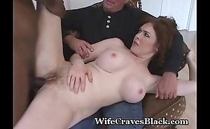 Horny Spliced Fucks Black Be advisable for Hubby