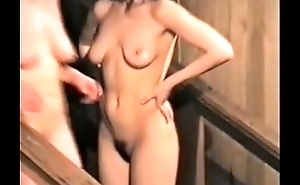 Tyro Russian Cunts Are Filmed With Silent Cameras Naked