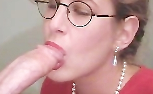 Word-of-mouth Amber Office oral-service and cum measure