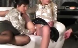 Celine Noiret, Tatiana Milovani & Lexxis Brown. . . Eurobabe Ripping!