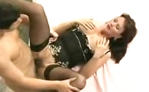 Busty MILF Fucked And Jizzed On