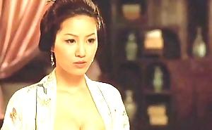 金瓶梅 slay rub elbows with aspersive lauded intercourse & chopsticks 2