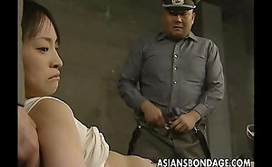 Japanese doll believed yon with an increment of thronging close to heavy cocks