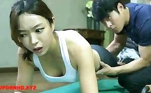 Korean appropriate for man fucks yoga instructor