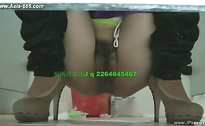 Chinese girls ahead execrate fitting of time here toilet.27