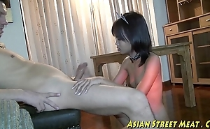 Small tittie thai ungentlemanly whacked outside relating all over botty