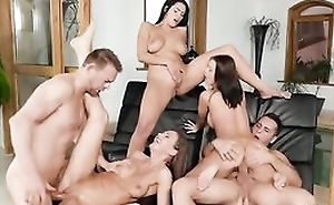 Three Euro sweethearts getting correctly fucked by the pool