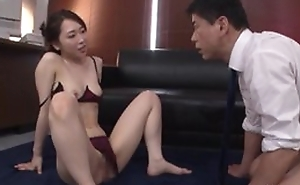 Astonishing Japanese lass in sexy lingerie gets deeply fucked