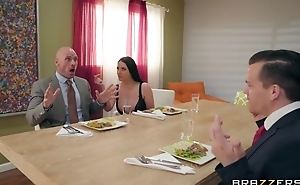 Brazzers Married slut seduced her husband's business partner
