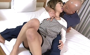 Asian housewife receives becomingly fucked by her economize