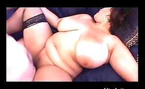 Latina BBW in all directions Big Boobs n Stockings Creampied