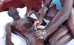 Black African Twinks Gives Viva voce and Anal Fucking