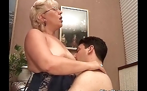 Old old bag got doggy fucked by some horny